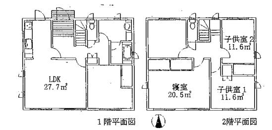 住宅の平面図