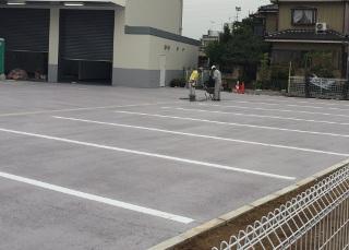 ミラクールウェイを民間駐車場にご採用いただきました