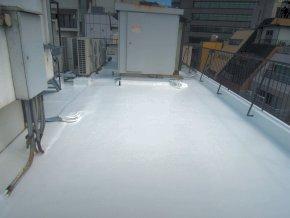 遮熱塗料ミラクール施工のお客様の声・キハラ様本社 写真2