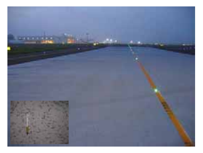 Application to an airport taxiway