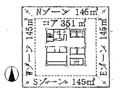 オフィス平面図