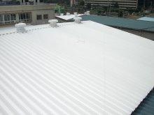 製品S300 施工例写真1 工場屋根