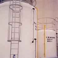遮熱塗料ミラクール施工写真 設備 薬品タンク