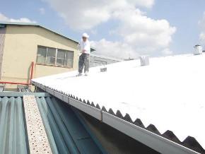 遮熱塗料ミラクール施工のお客様の声 明和ゴム 写真 施工後